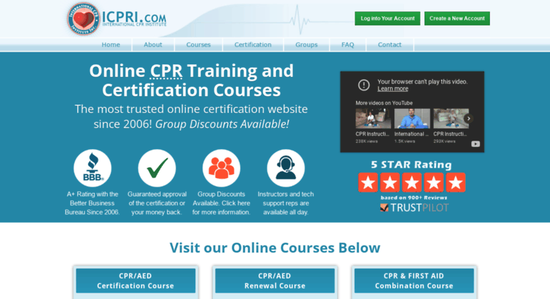 Access Icpri Online Cpr Training And Certification First Aid