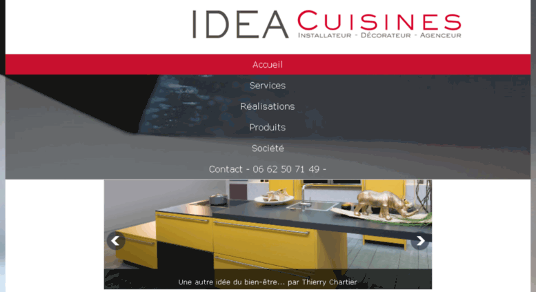 Access idea cuisines idea cuisines installation for Dressing salle de bain