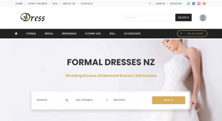 Access Idress Co Nz Formal Dresses Nz Wedding And Bridesmaid