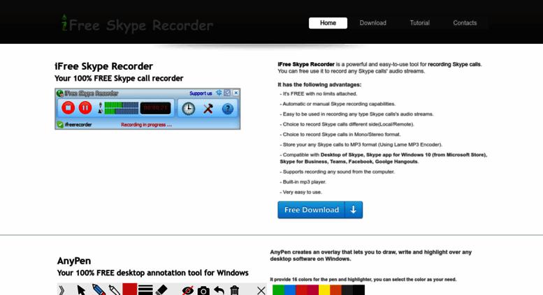 skype recorder for windows 10