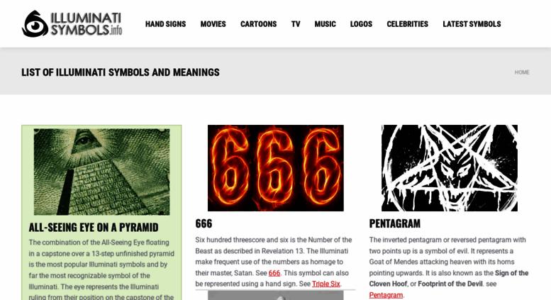 Access Illuminatisymbolsfo List Of Illuminati Symbols And