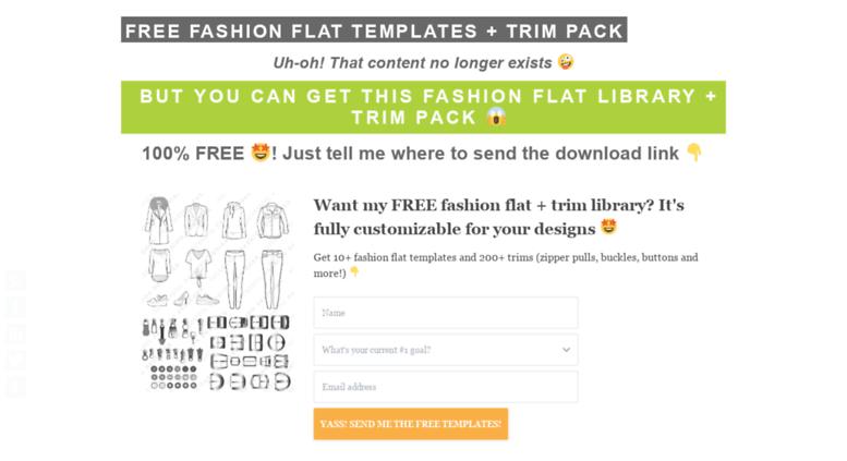 Access illustratorstuff.com. Fashion Flat Templates | Pattern ...