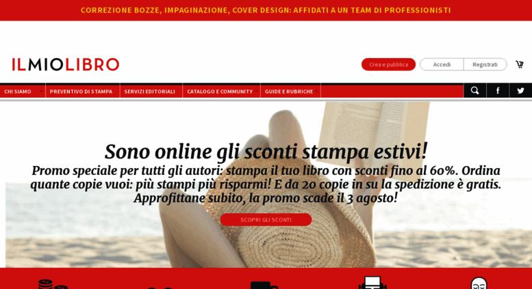 Access Ilmiolibroit Ilmiolibro Pubblicare Libri E Book