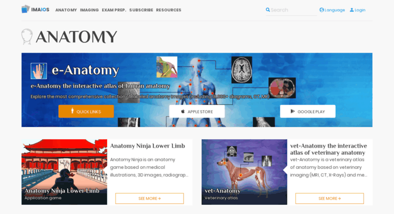 Access Imaios Anatomy Medical Imaging And E Learning For