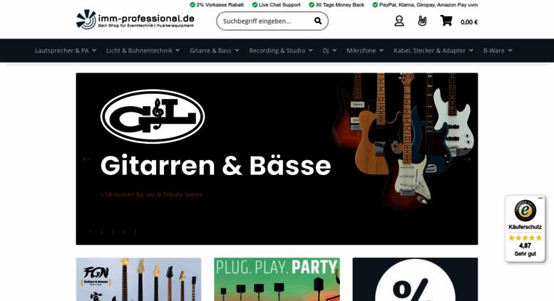 Access imm-professional.de. imm-professional.de - Dein Shop für ...
