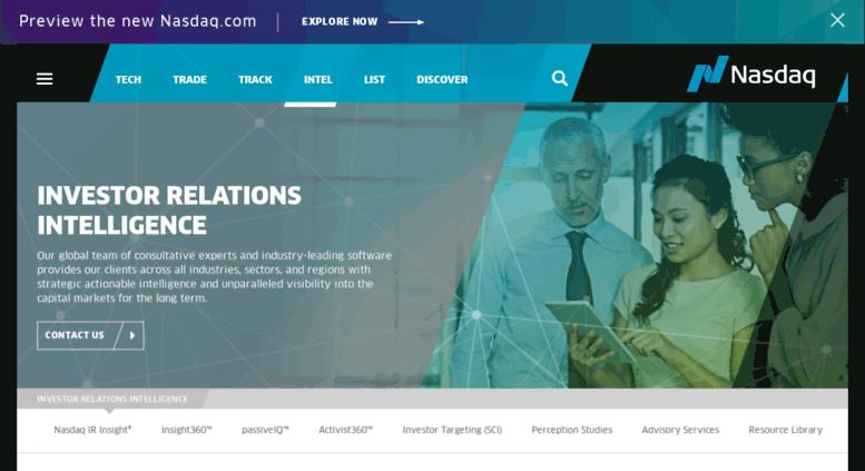 Access investors.urscorp.com. Investor Relations Software: IR ...