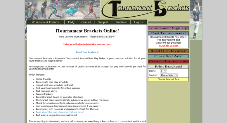 access itournamentbrackets com online tournament brackets
