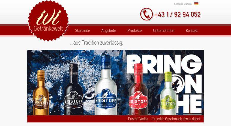 Access ivi-getraenke.at. IVI Getränkewelt - Ihr verlässlicher ...