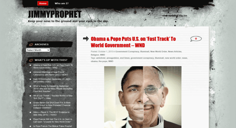 Access jimmyprophet.wordpress.com. jimmyprophet   Keep ...