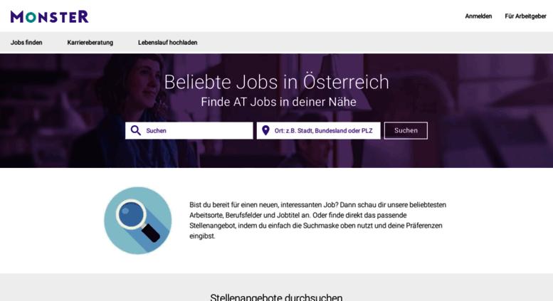 Access jobs.monster.at. Alle Stellenanzeigen für Jobs in Österreich ...