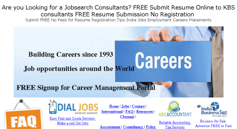 Access Jobsearchworld Com Jobsearch Consultancy Submit Resume