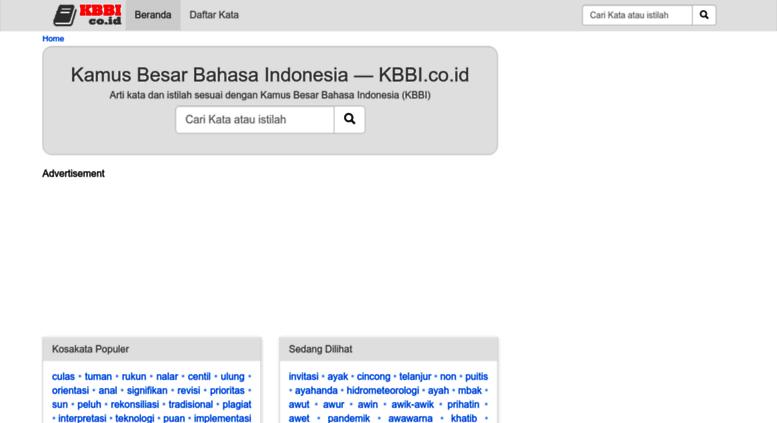 Access kbbi kamus besar bahasa indonesia kbbi kamus besar bahasa indonesia kbbi stopboris Image collections