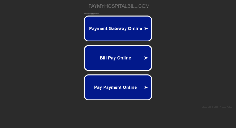 Access kdmc paymyhospitalbill com pay my hospital bill