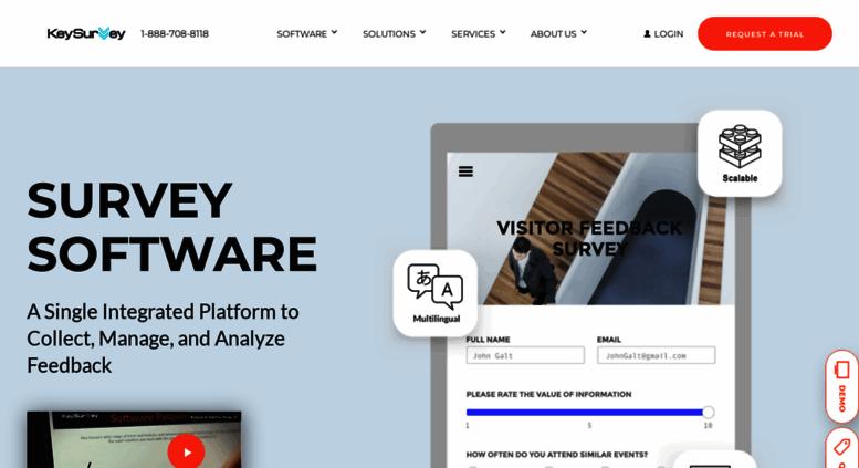access keysurvey com online survey software questionnaire tool