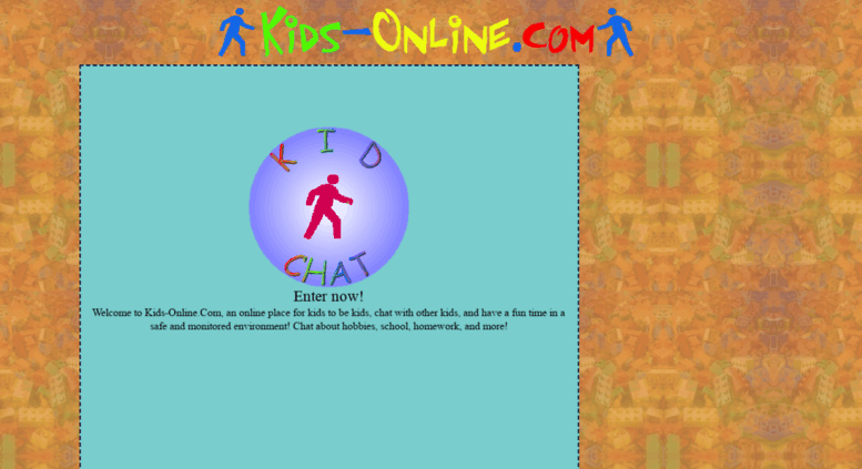Access kids-online.com. Kids Online - Free Safe Chat Rooms for Kids ...