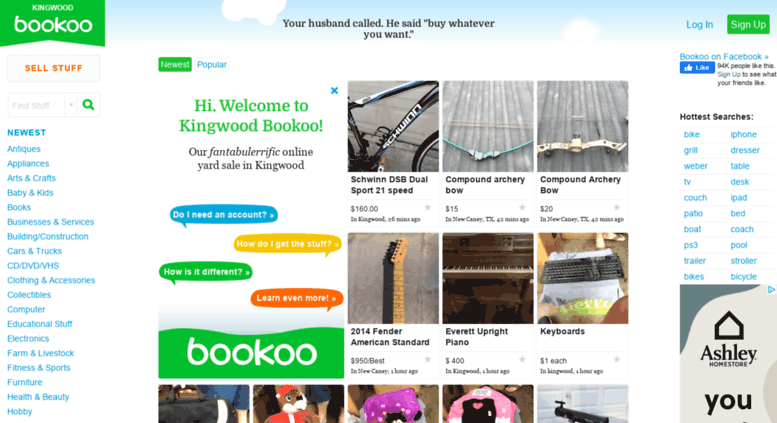 Access Kingwoodyardsales Com Kingwood Bookoo Buy And Sell With