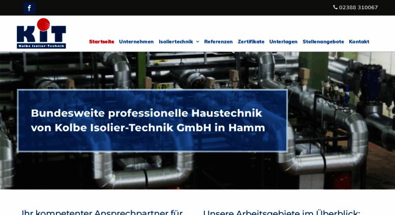 Kit Gmbh access kit gmbh de kolbe isolier technik gmbh isolierungen in
