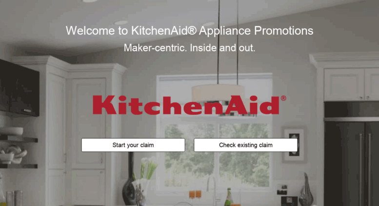 Kitchen Aid Reward Center