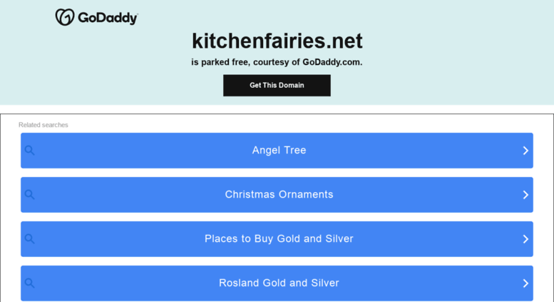 Kitchenfairies.net Screenshot