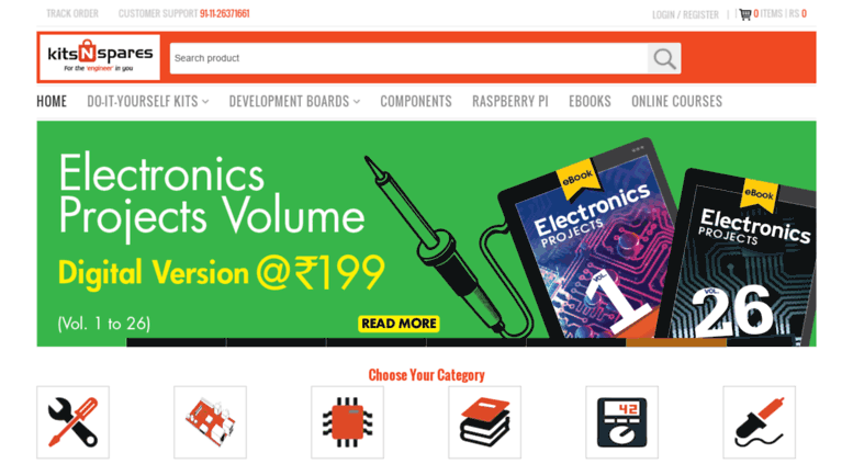 Access kitsnspares buy electronics projects kits online in kitsnspares screenshot solutioingenieria Image collections