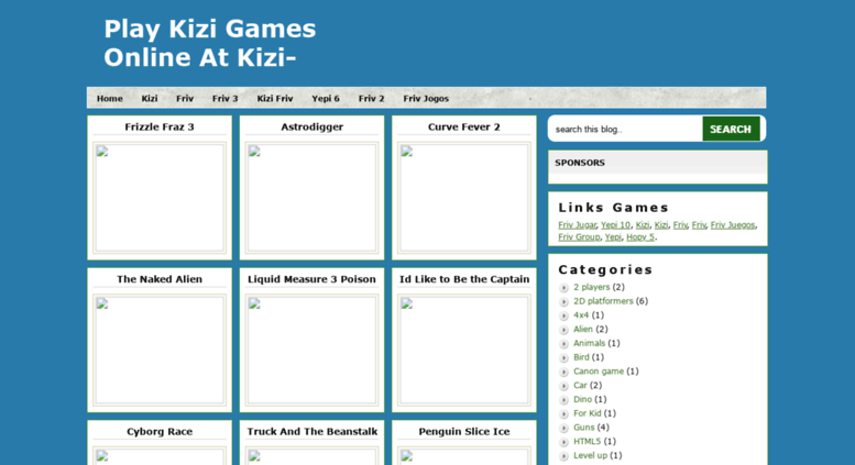 Access Kizigames6 Blogspot Com Play Kizi Games Online At Kizi 2 Org