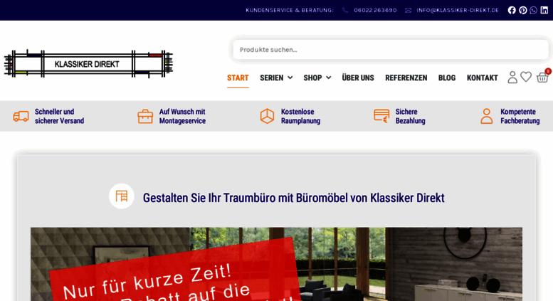 Access Klassiker Direkt De Chefzimmer Buromobel Design