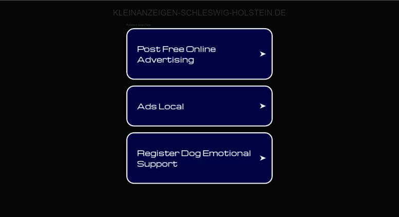 """3.584 Angebote aus """"Kleinanzeigen"""" in """"Schleswig-Holstein"""" gebraucht kaufen"""