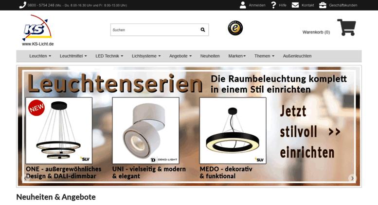 Ks Leuchten access ks licht de len leuchten onlineshop aus essen ks licht