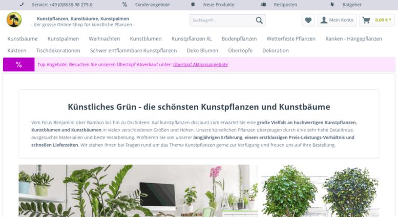 access kunstpflanzen discount com kunstpflanzen kaufen bei