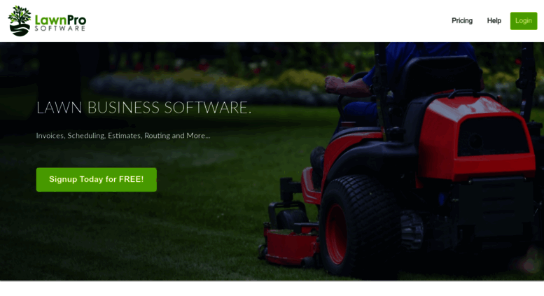 lawn care software for mac pc ipad iphone and android