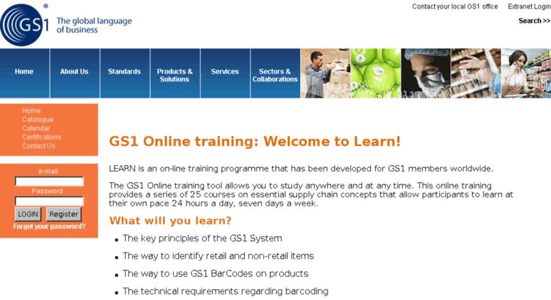 Access Learn1 Gs1 Learn