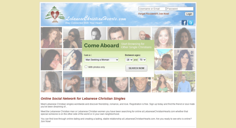 Lebanese dating service