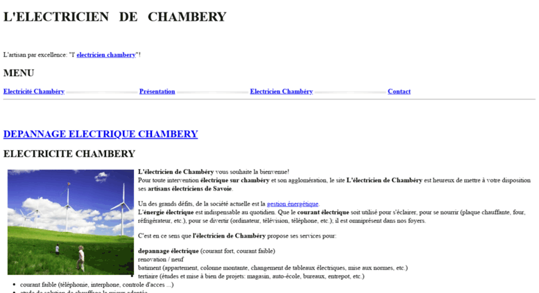 Access electricien chambery l - Electricien a nice ...