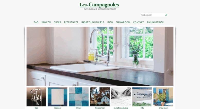Access les-campagnoles.dk. Les Campagnoles - Køkken- og ...