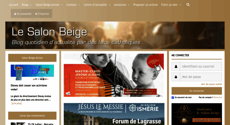 Access le salon beige for Le salon beige