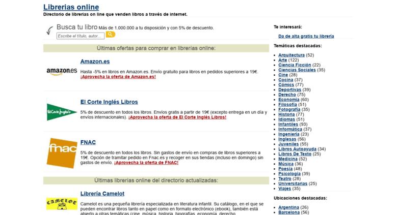 Access libreriasonline librerias online incluye las mejores libreriasonline screenshot fandeluxe Choice Image