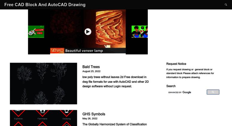 Access Linecad Autocad Free Cad Block Symbol And Cad Drawing