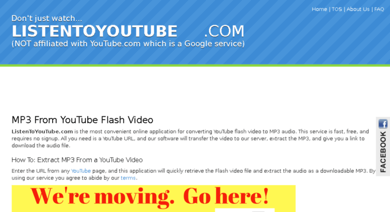 access listentoyoutube com youtube to mp3 converter fast free