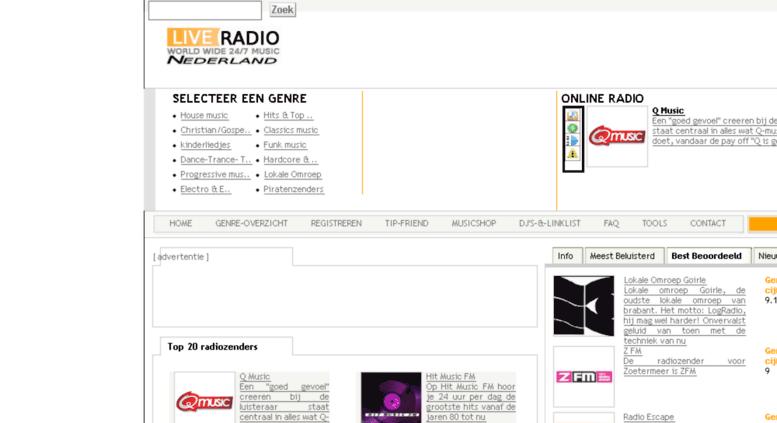 radiozenders fm