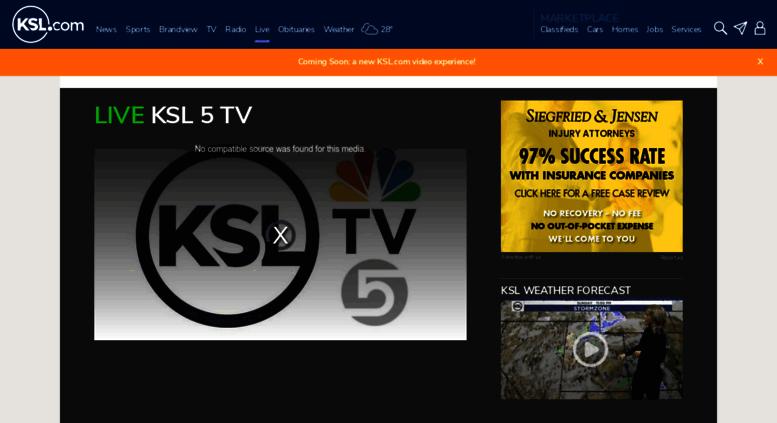 Access Live Ksl Com Ksl Live Streaming Ksl Com