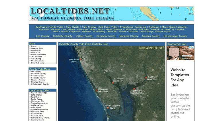 Access Localtides Southwest Florida Tides Local Tide Charts
