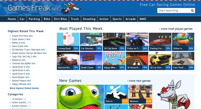 Car Games Free Online Games Freak