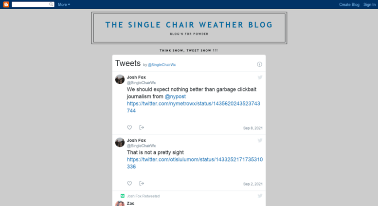 Access Madriverglenweather Blogspot Com The Single Chair Weather Blog