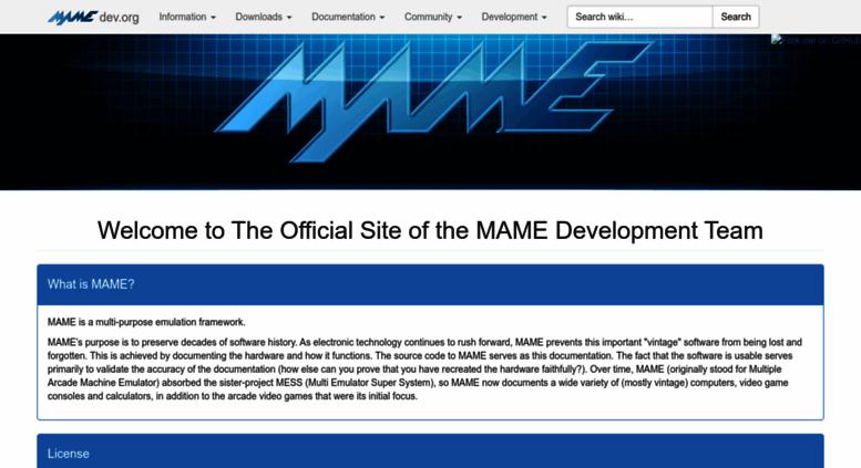 Software MAMEDEV.org