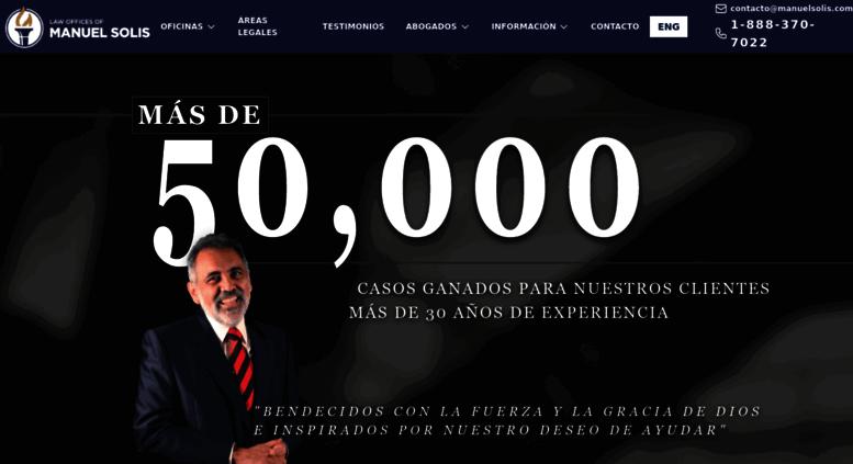 Access manuelsolis.com. Abogados de Inmigracion - Manuel Solis Law ...