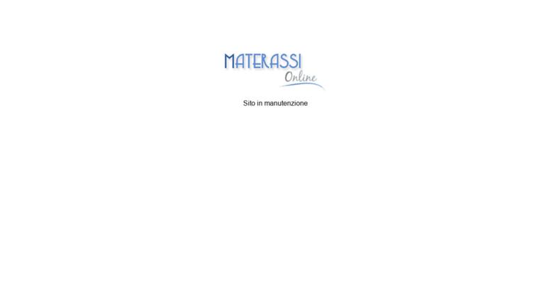 Access materassi-online.com. Vendita materassi, reti e complementi ...