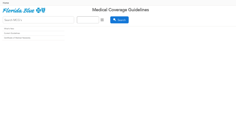 Access mcgs.bcbsfl.com. BCBSF Medical Policies (Medical Coverage ...