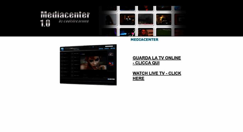 coolstreaming media center