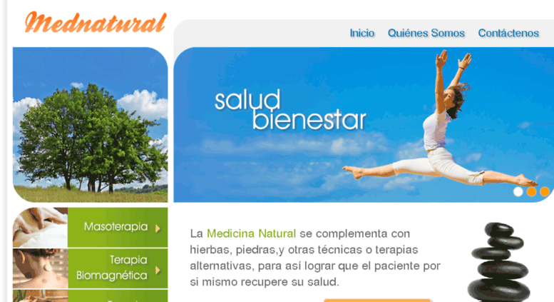 mednatural.cl screenshot