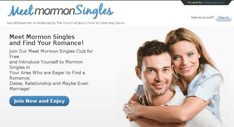 Meet mormon singles